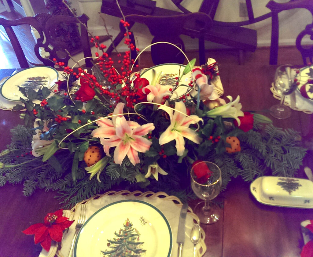 Holiday Centerpiece Sellew