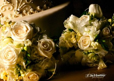 White and Ivory Bouquets