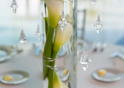 Submerged Calla Lily Centerpieces