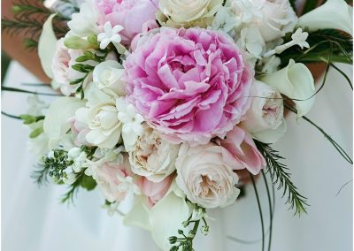 Pink Peonies, Garden Roses, Stephanotis and More