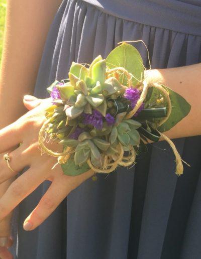 Succulent Corsage